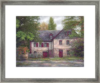 Salem House Framed Print by Chuck Pinson