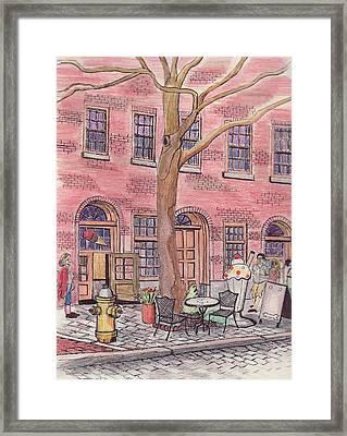 Salem Ice Cream Shop Framed Print