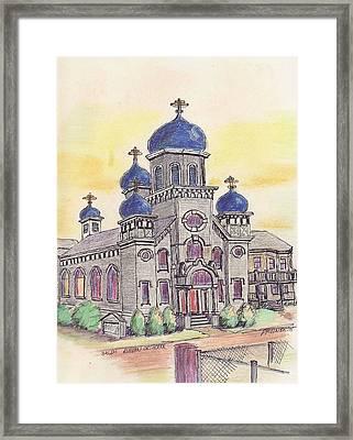 Salem Orthodox Church Framed Print