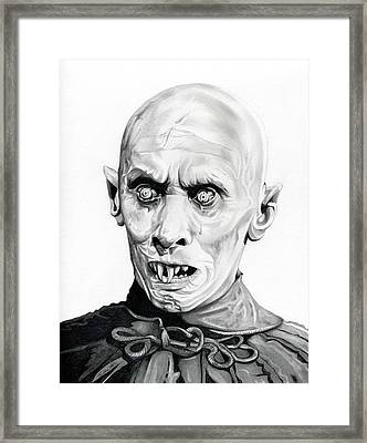 Salem's Lot Framed Print by Fred Larucci