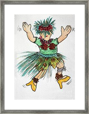 Sales Fairy Dancer 2 Framed Print