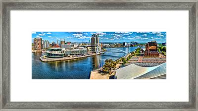Salford Quays Framed Print