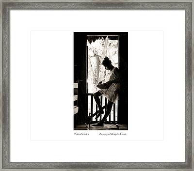 Framed Print featuring the photograph Salina Rosales by Tina Manley