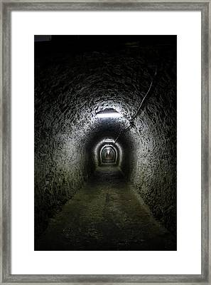 Salina Turda Salt Mine Framed Print by Photostock-israel