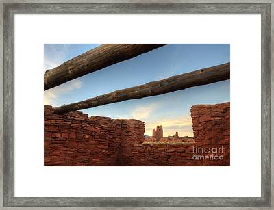 Salinas Pueblo Mission Abo Ruin 2 Framed Print by Bob Christopher