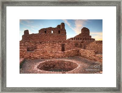 Salinas Pueblo Mission Abo Ruin 3 Framed Print by Bob Christopher