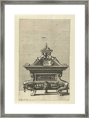 Saliniim, Johannes Or Lucas Van Doetechum Framed Print by Johannes Or Lucas Van Doetechum And Hans Vredeman De Vries And Hieronymus Cock