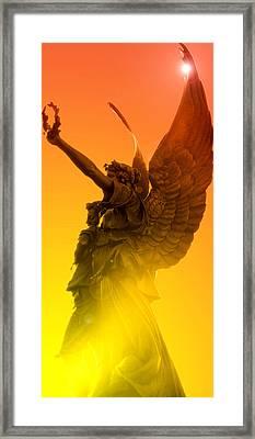 Salisbury Angel Framed Print by Misty Stach