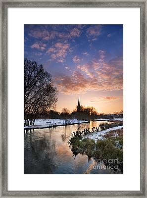 Salisbury Cathedral 1 Framed Print