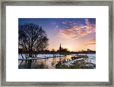 Salisbury Cathedral 2 Framed Print by Rod McLean