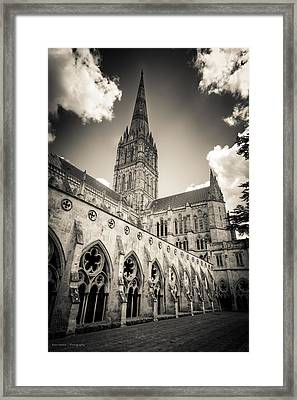 Salisbury - For Eugene Atget Framed Print