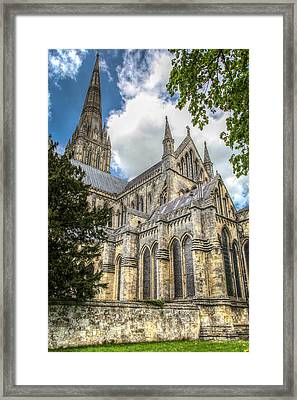 Salisbury In The Morning Framed Print