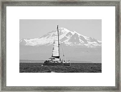 Salish Sea Gem Framed Print by Annie Pflueger