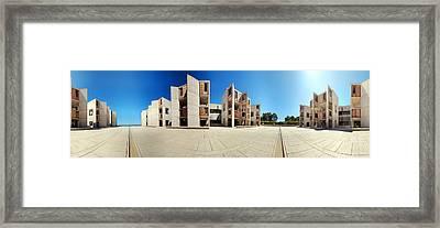 Salk Institute Framed Print
