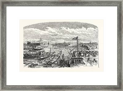 Sallee And Rabat Framed Print by Moroccan School