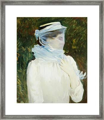 Sally Fairchild Framed Print by John Singer Sargent