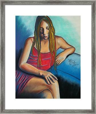 Sally Framed Print