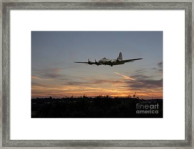 Sally Sunset  Framed Print