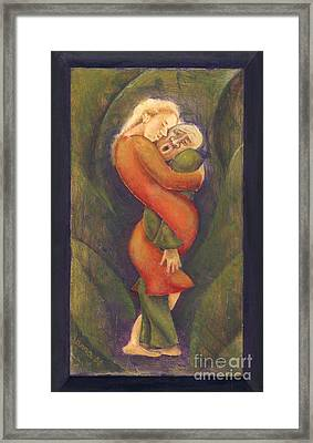 Sally Who Loves Too Much... Framed Print