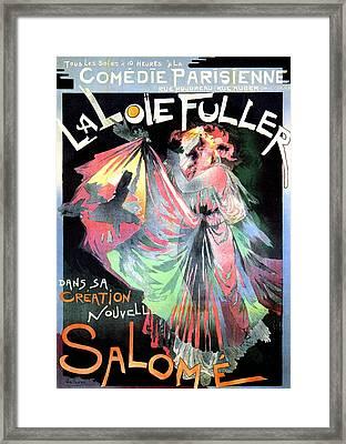 Salome Framed Print by Charlie Ross