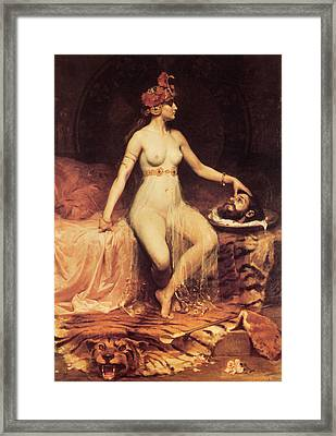 Salome Framed Print by Pierre Bonnaud