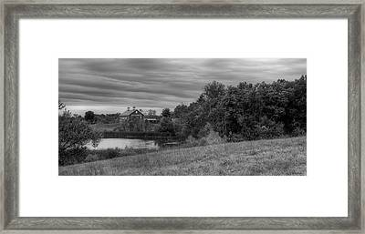 Salomon Farm In The Fall Framed Print