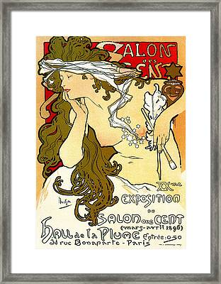 Salon Des Cents Framed Print by Charlie Ross