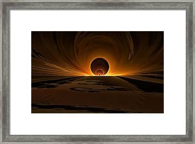 Salsa Sunrise Framed Print