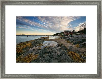 Salt Cod Cafe Framed Print by Darylann Leonard Photography
