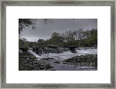 Salt Creek Overflowing Framed Print by David Bearden