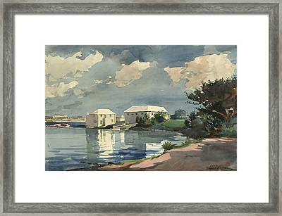 Salt Kettle Bermuda Framed Print by Winslow Homer