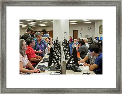 Salt Lake City Genealogical Research Framed Print by Jim West
