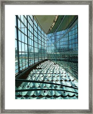 Framed Print featuring the photograph Salt Lake City Library by Ely Arsha