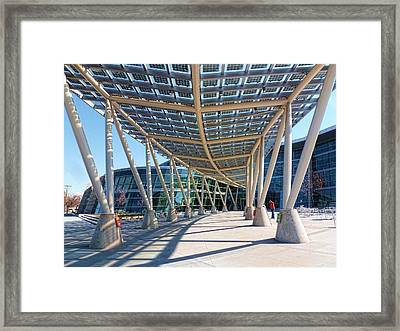 Framed Print featuring the photograph Salt Lake City Police Station - 2 by Ely Arsha