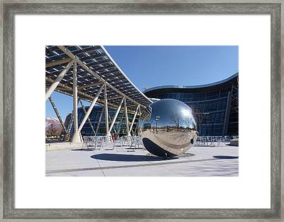 Framed Print featuring the photograph Salt Lake City Police Station - 1 by Ely Arsha