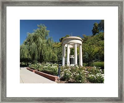 Salt Lake Great War Memorial Two Framed Print