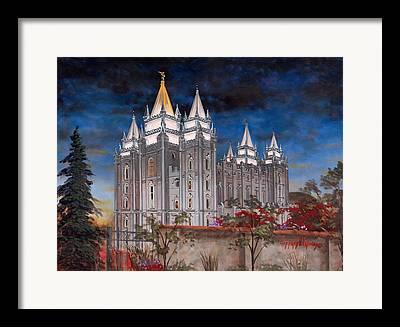 Church Of Jesus Christ Of Latter-day Saints Framed Prints