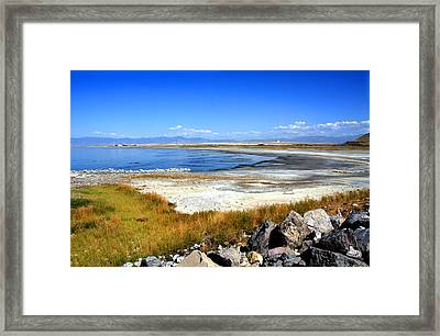 Salt Lake Utah Framed Print