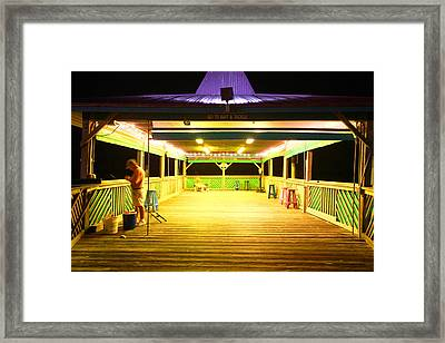 Salt Life Framed Print by Jose Rodriguez
