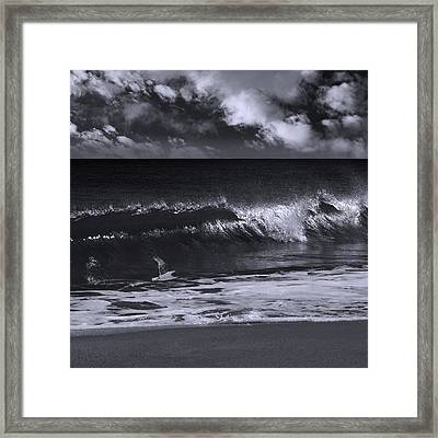 Salt Life Morning 1 Framed Print by Laura Fasulo