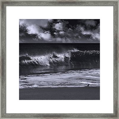 Salt Life Morning 2 Framed Print by Laura Fasulo
