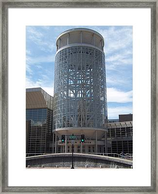Framed Print featuring the photograph Salt Palace by Sheila Byers