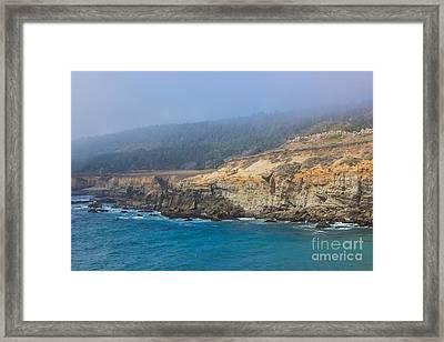 Salt Point State Park Coastline Framed Print