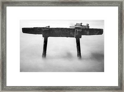 Framed Print featuring the photograph Salt Water by Amarildo Correa