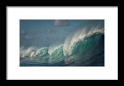 Tahiti Framed Prints