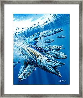 Salt Weapons Framed Print by Dennis Friel