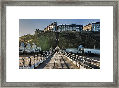 Saltburn On Sea Framed Print by Trevor Kersley