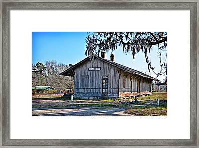 Salters Depot Framed Print
