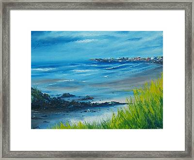 Salthill Galway Framed Print by Conor Murphy