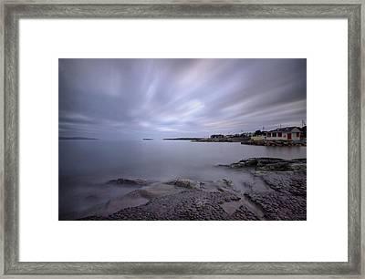Salthill Promenade Framed Print